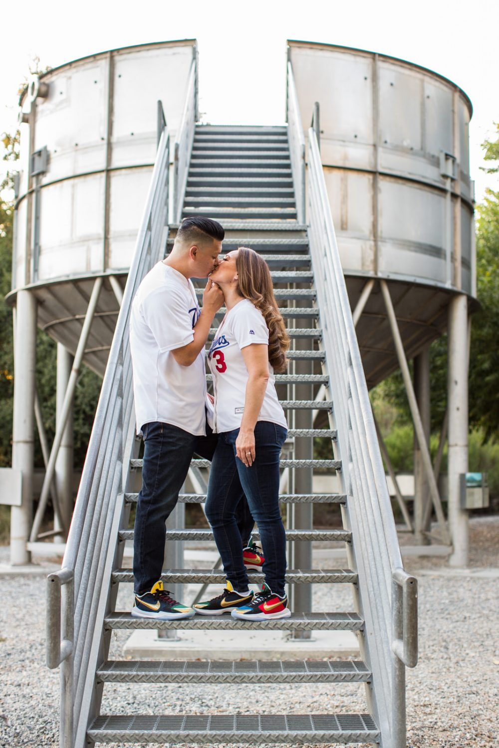 Los-Angeles-Dogdgers-Engagement-Photography-1