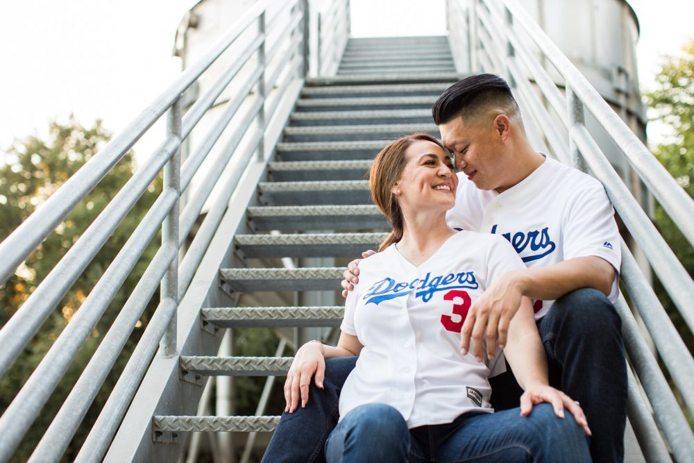 Los-Angeles-Dogdgers-Engagement-Photography-5