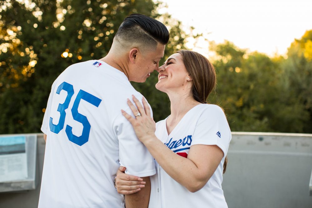 Los-Angeles-Dogdgers-Engagement-Photography-7